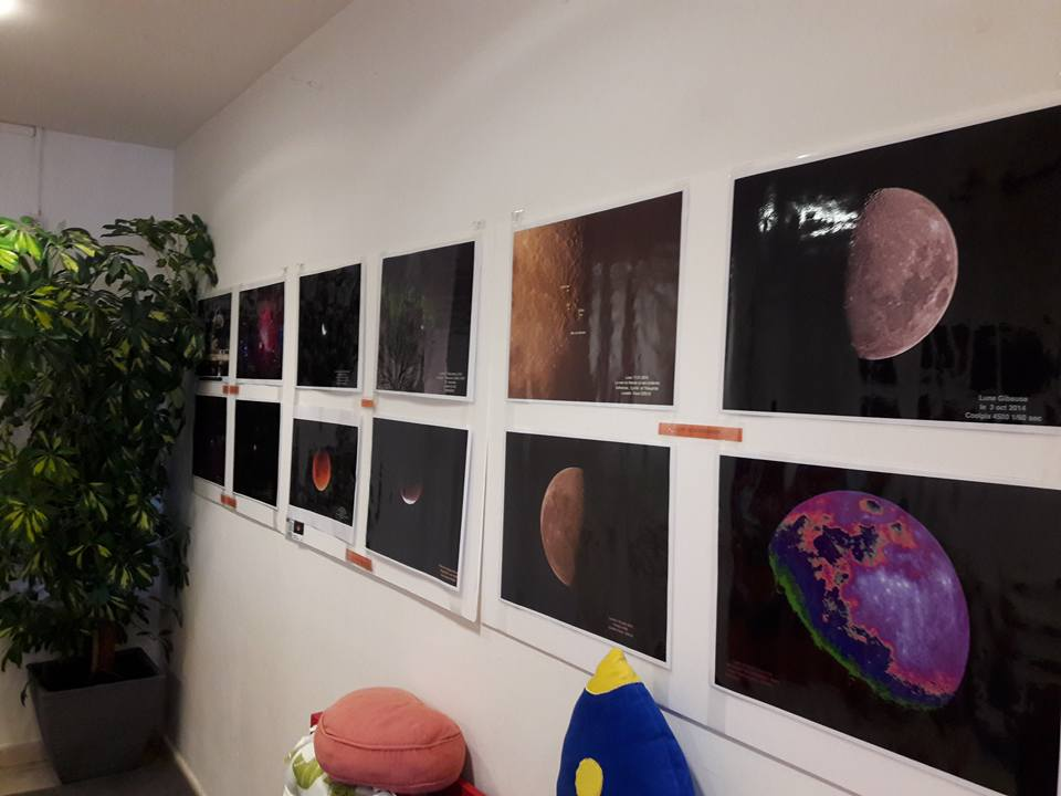 Exposition d'astromonie