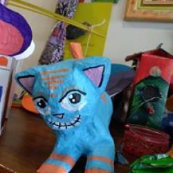 Création d'une statue'cat